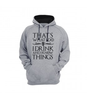 هودی I Drink & I Know Things