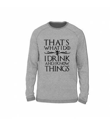 سویشرت I Drink & I Know Things
