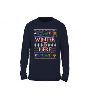سویشرت طرح بافتنی Winter Is Here