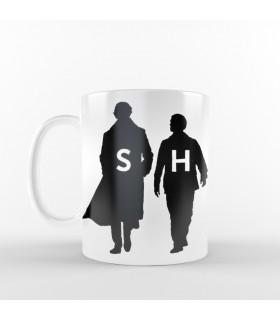ماگ Sherlock  - طرح دو