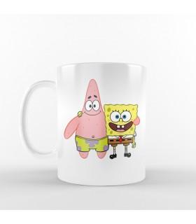 ماگ Bob & Patrick - طرح یک