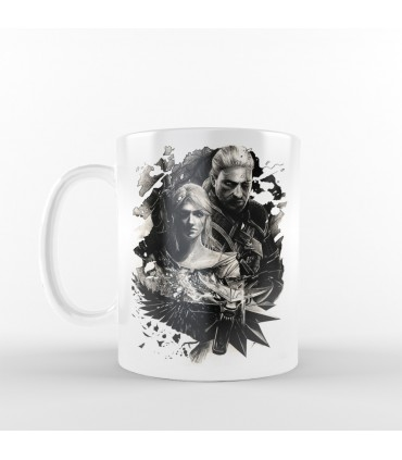 ماگ  Geralt - طرح یک