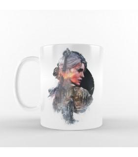 ماگ Geralt & Ciri - طرح یک