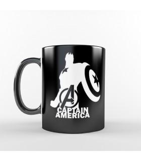 ماگ Captain America - طرح یک