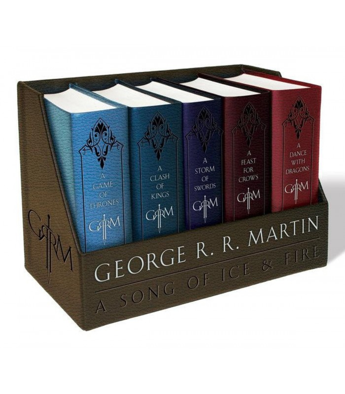 A Song of Ice and Fire, Leather-Cloth Boxed Set (A Song of Ice and Fire, 1-5)