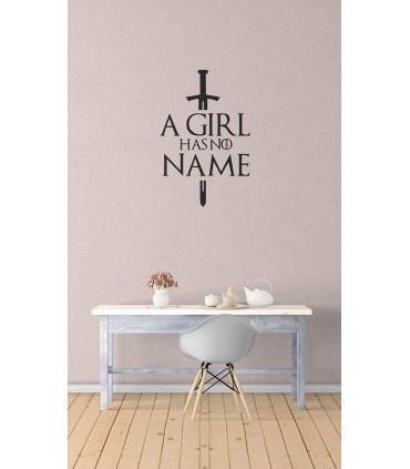 استیکر A Girl Has No Name