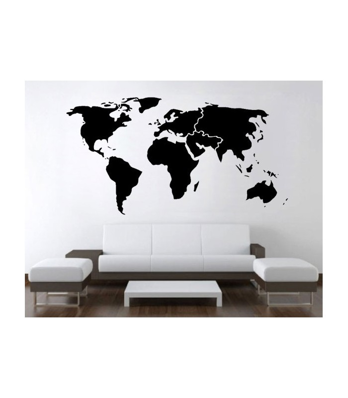 برچسب نقشه جهان بزرگ
