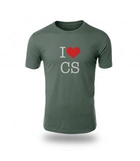 تی شرت I Love CS