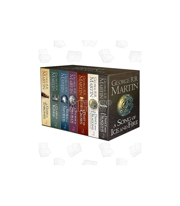 A Game of Thrones: The Complete Box Set (7 Books + Map)