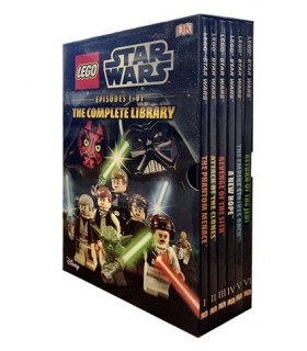 LEGO Star Wars Episodes I-VI The Complete Library 6 Book Box Set