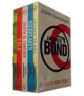 John Gardner : James Bond Box Set - 5 books