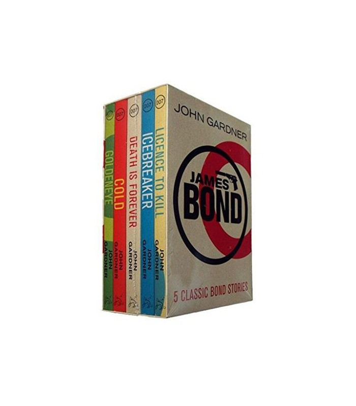 John Gardner : James Bond Box Set - 5 books