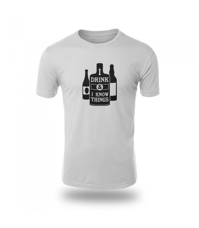 تی شرت Drink & iKnow things