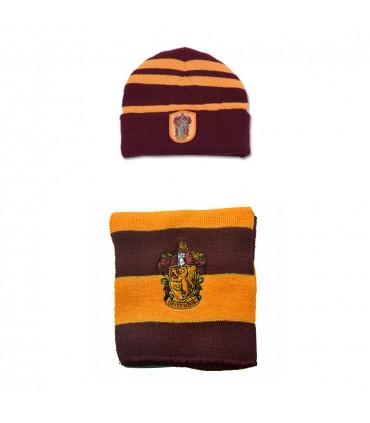 ست کلاه و شال گردن گریفندور - طرح یک