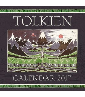 Tolkien Calendar 2017: The Hobbit 80th Anniversary