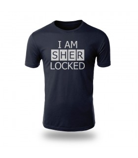 تی شرت I AM SHERLOCKED