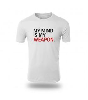تی شرت My Mind is My Weapon