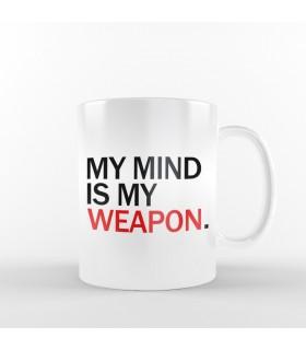 ماگ My Mind is My Weapon