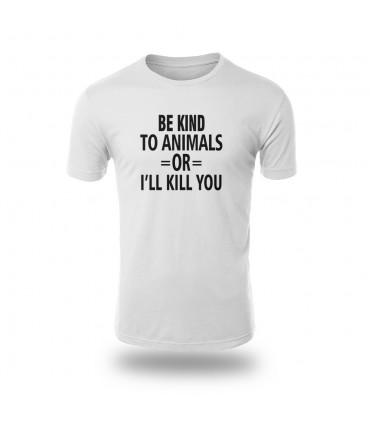 تی شرت Be Kind To Animals