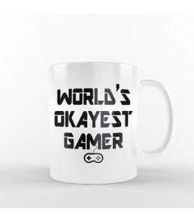 ماگ World's Okayest Gamer