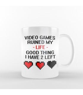 ماگ Video Games Ruined My Life