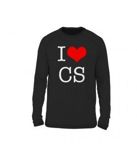 سویشرت I Love CS