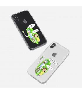قاب موبایل Rick And Morty - طرح یک