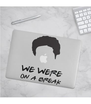 استیکر We Were On A Break -  طرح یک
