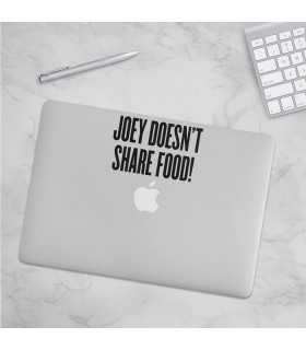 استیکرJoey Doesnt Share Food - طرح دو