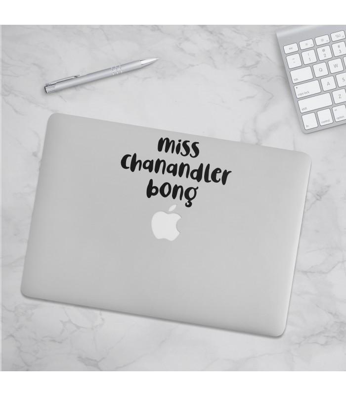 استیکر Miss Chanandler Bong