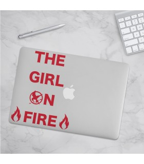 استیکر The Girl On Fire