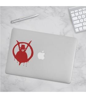 استیکرV for Vendetta - طرح شش