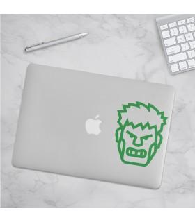 استیکر Hulk - طرح هفت