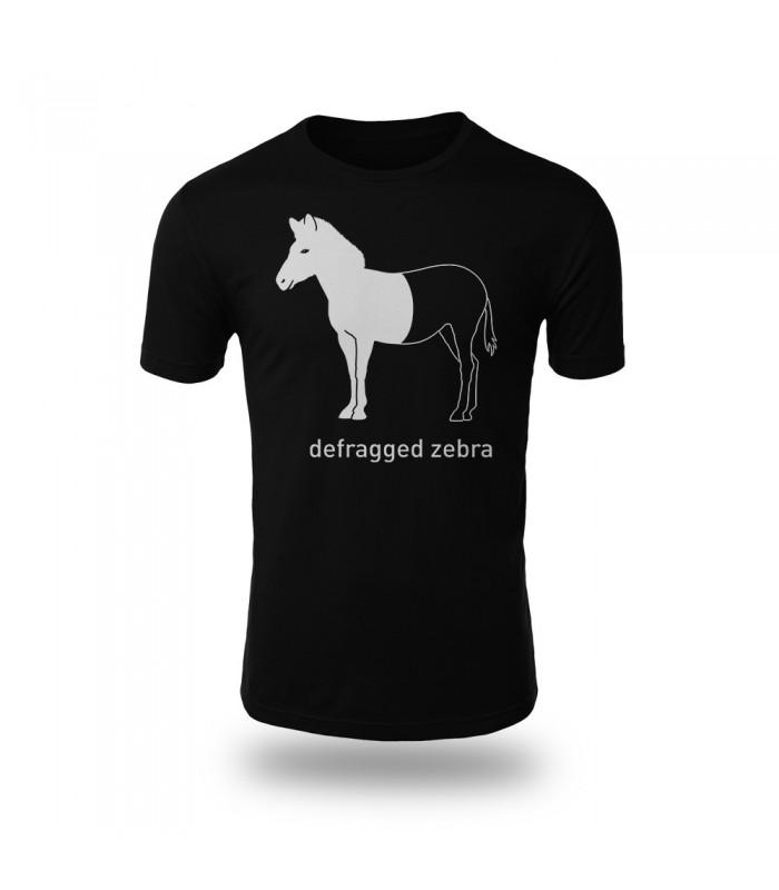 تی شرت Defraged Zebra