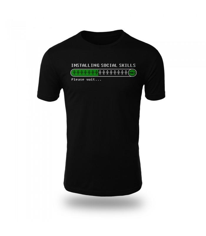 تی شرت Social Skills