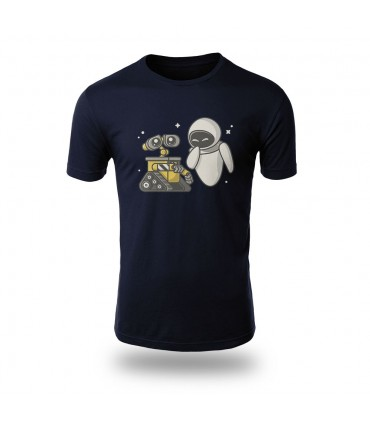 تی شرت Wall-e And Eve - طرح یک