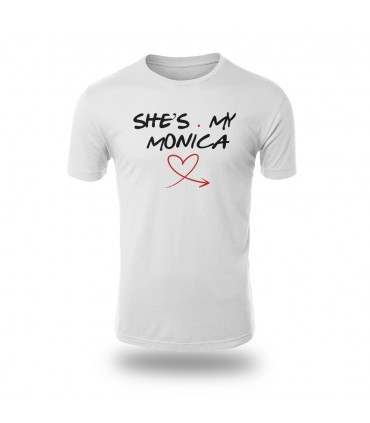 تی شرت She is My Monica