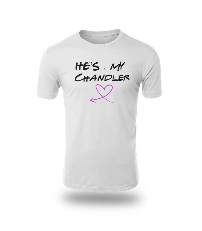 تی شرت He is My Chandler