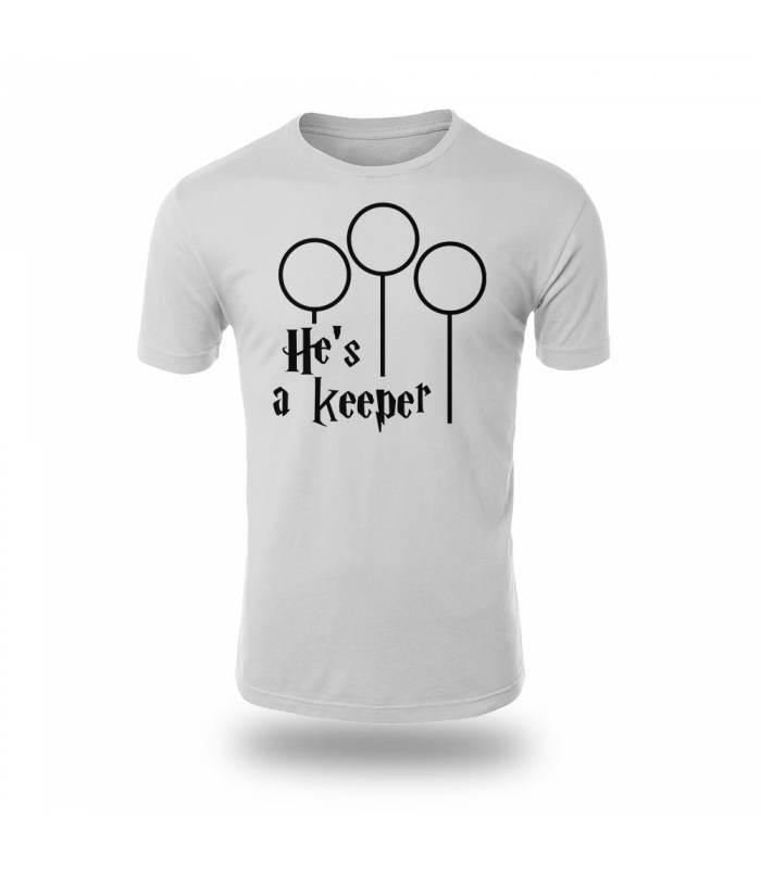 تی شرت He is a Keeper