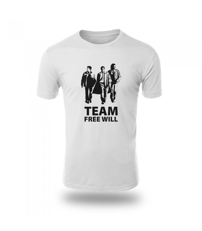 تی شرت Team Free will