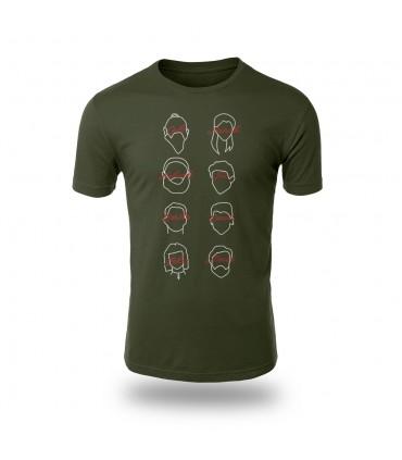 تی شرت Money Heist - طرح شش