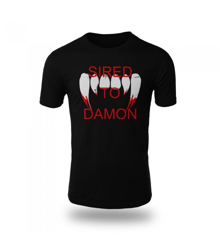 تی شرت Sired to Damon