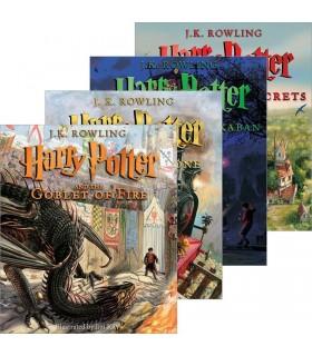 ست کتابهای مصور هری پاتر