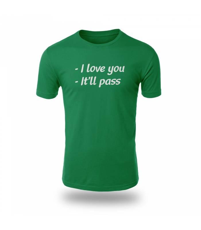 تی شرت I Love You