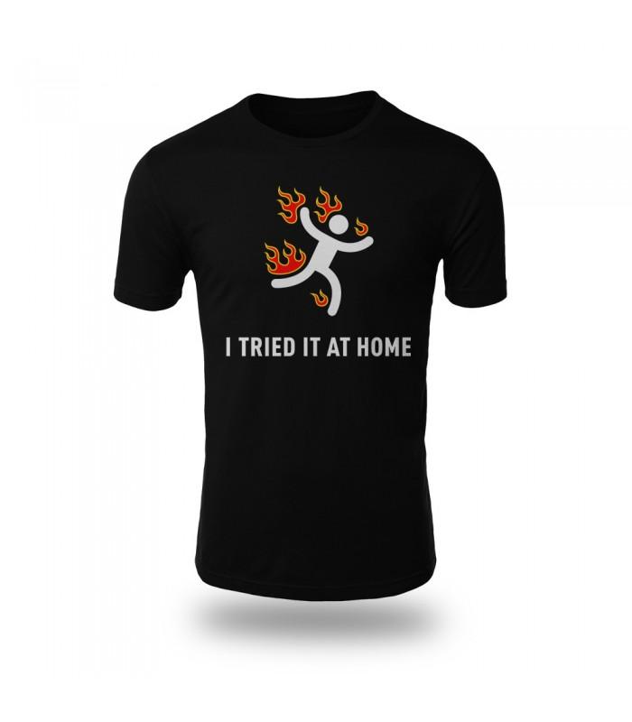 تی شرت I Tried it at home