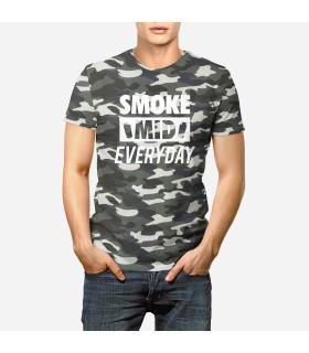 تی شرت ارتشی  Smoke Middle