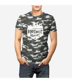 تی شرت ارتشی Fornite Forever