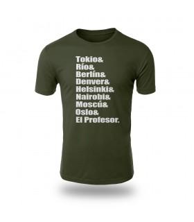 تی شرت Money Heist - طرح سه