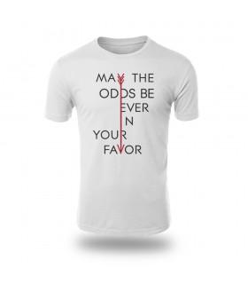 تی شرت May the odds be ever in your favor - طرح دو
