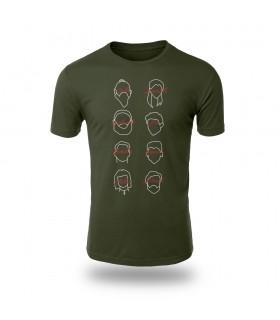 تی شرت Berlin - طرح شش